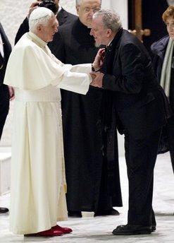 "Benedict XVI, Francisco ""Kiko"" Arguello"